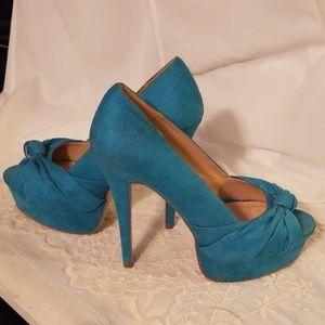 Shoedazzle open toe stiletto size 9